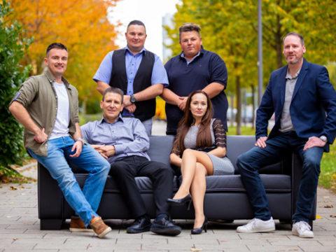 Team versicherter Versand & Transportversicherung