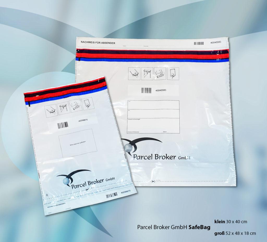 Paketservice Safebag-Versand